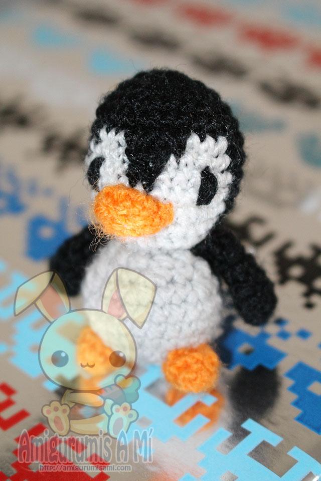 Llaveros Mini Pingüinos Amigurumi – Patrón Gratis |