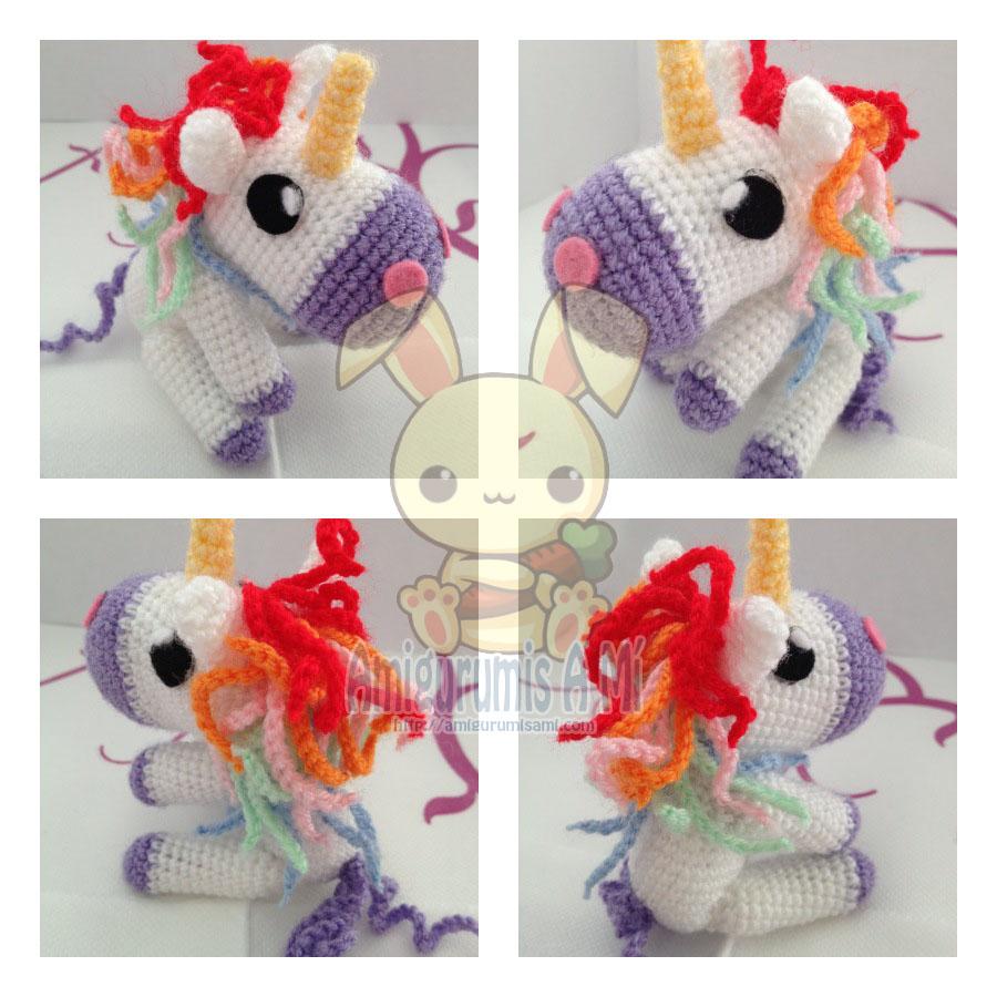 Amigurumi Unicornio Patron Gratis : Unicornios Amigurumi Toy Box