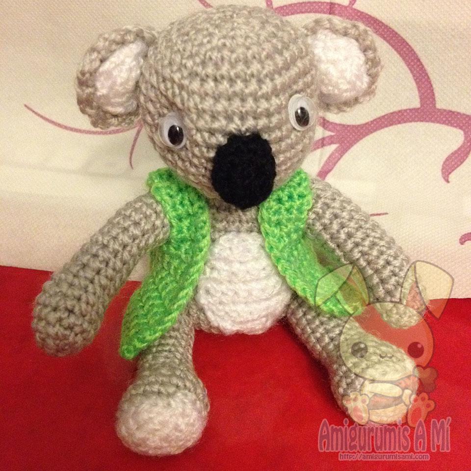 Llavero Koala Amigurumi : Koala Amigurumi