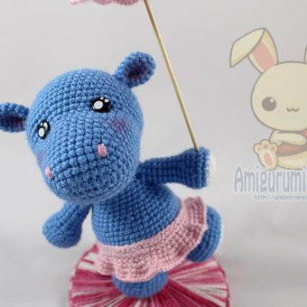 Hanna the hippo design by Little Muggles